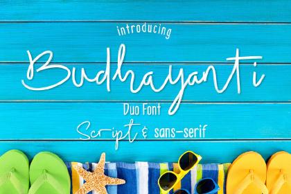 Budhayanti Script Free Demo