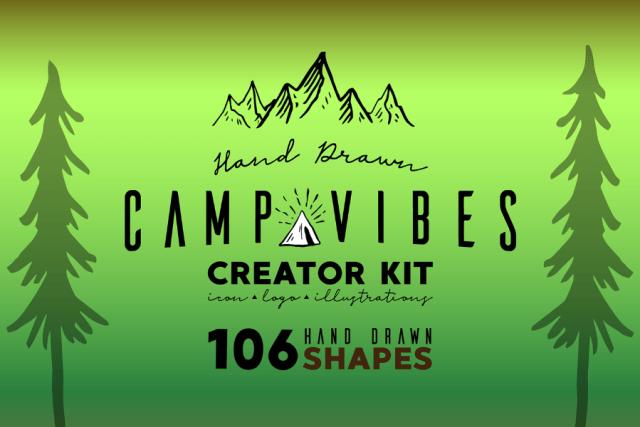 Camp Vibe Logo Creator