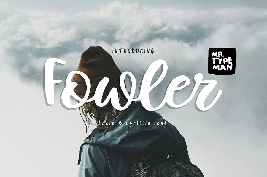 Fowler Script Free Demo