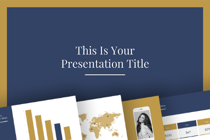 Elegant Presentation Template Pack