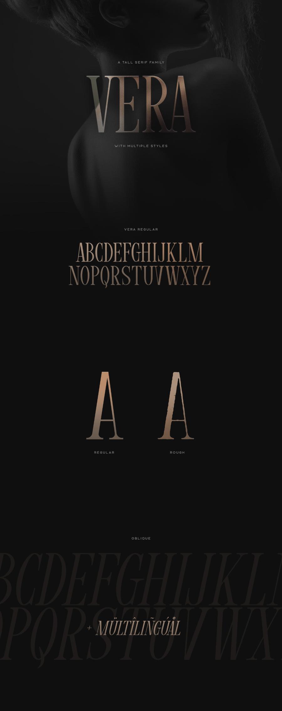 Vera Free Serif Typeface