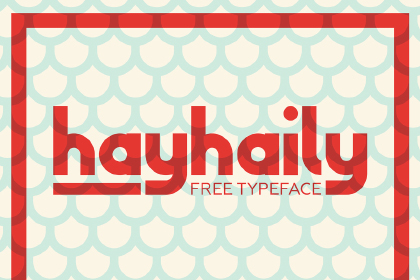 HayHaily Display Free Typeface