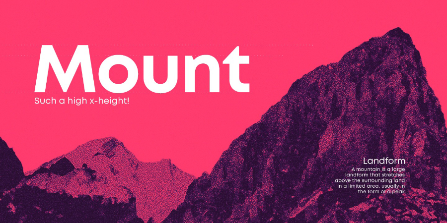 Mont Font Family Free Demo