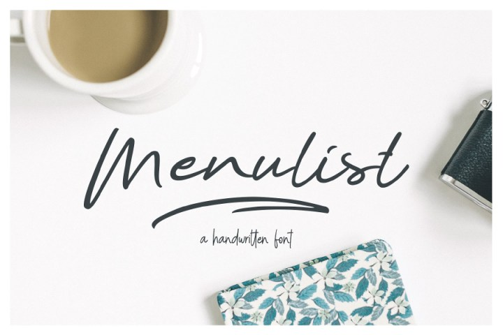 Menulist Beauty Free Demo