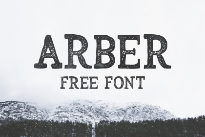 Arber Display Free Vintage Font