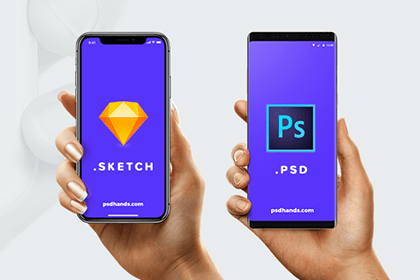 All New Smartphones Mockups