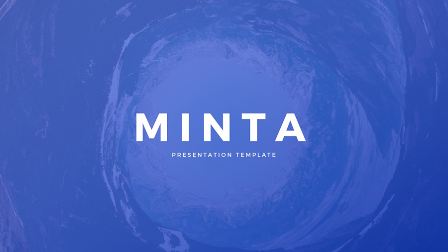Minta Free PowerPoint Template