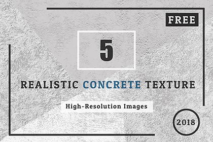 5 Realistic Concrete Texture