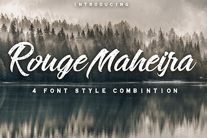 Rouge Maheira Font Demo