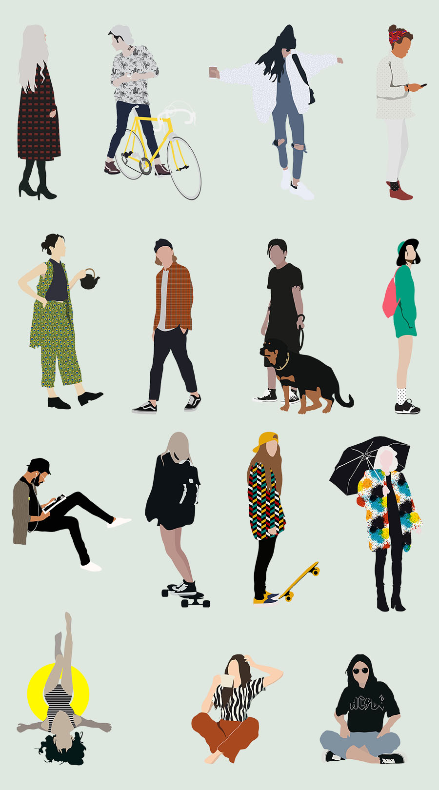 Common People Illustration Pack