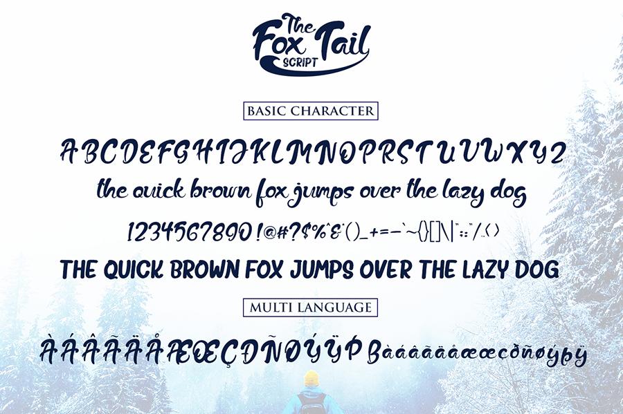 Fox Tail Script Free Demo