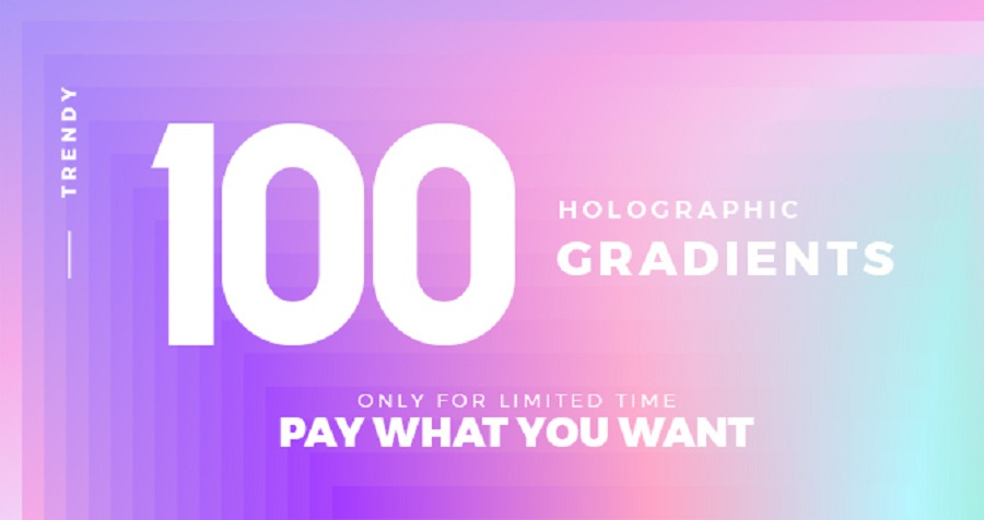 100 Free Holographic Gradients