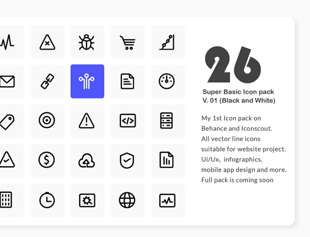 26 Free Essential SEO Icons