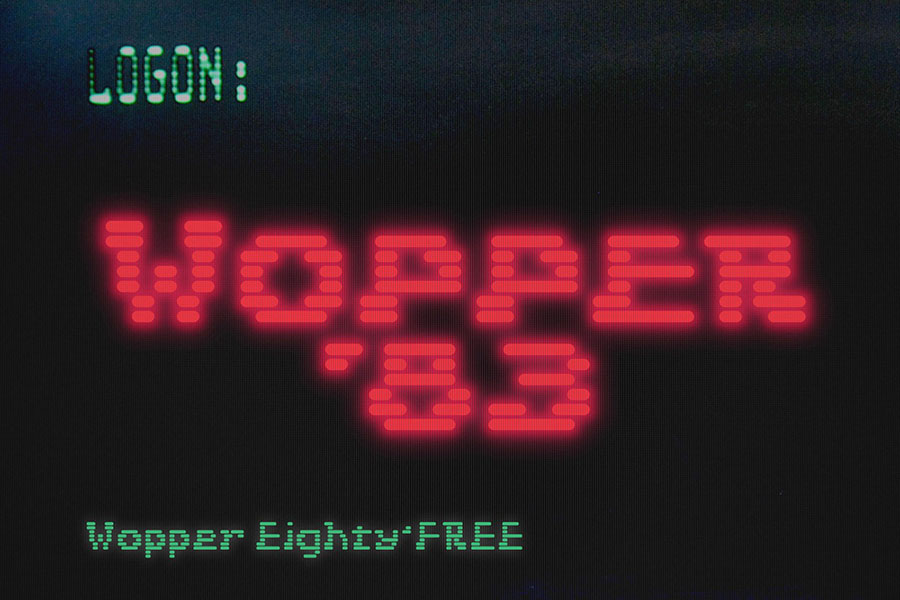 Wopper 83 Free Display Font