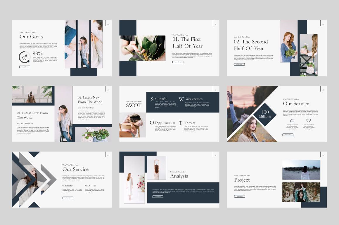 Ailie Free Presentation Template