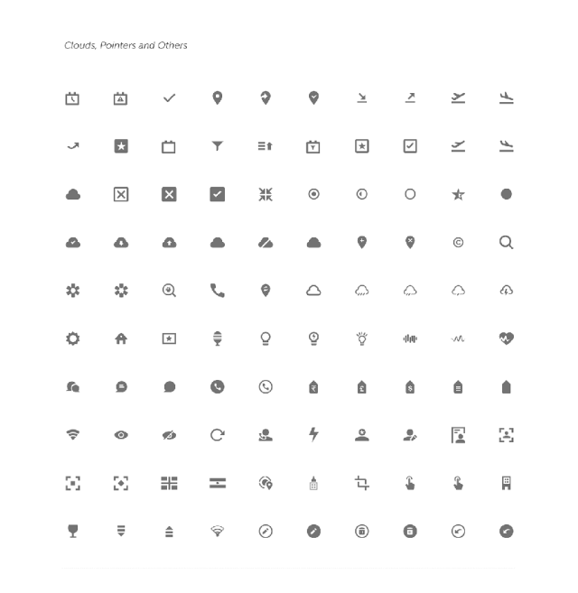 Free Sketch Icons Bundle