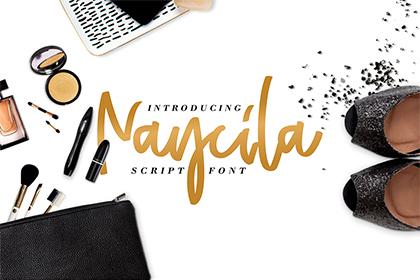 Naycilla Script Font Demo