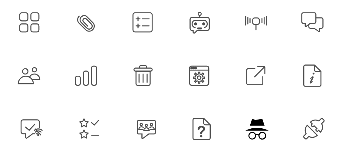 Free Software Service Icons