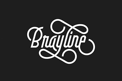 Brayline Vintage Typeface Demo