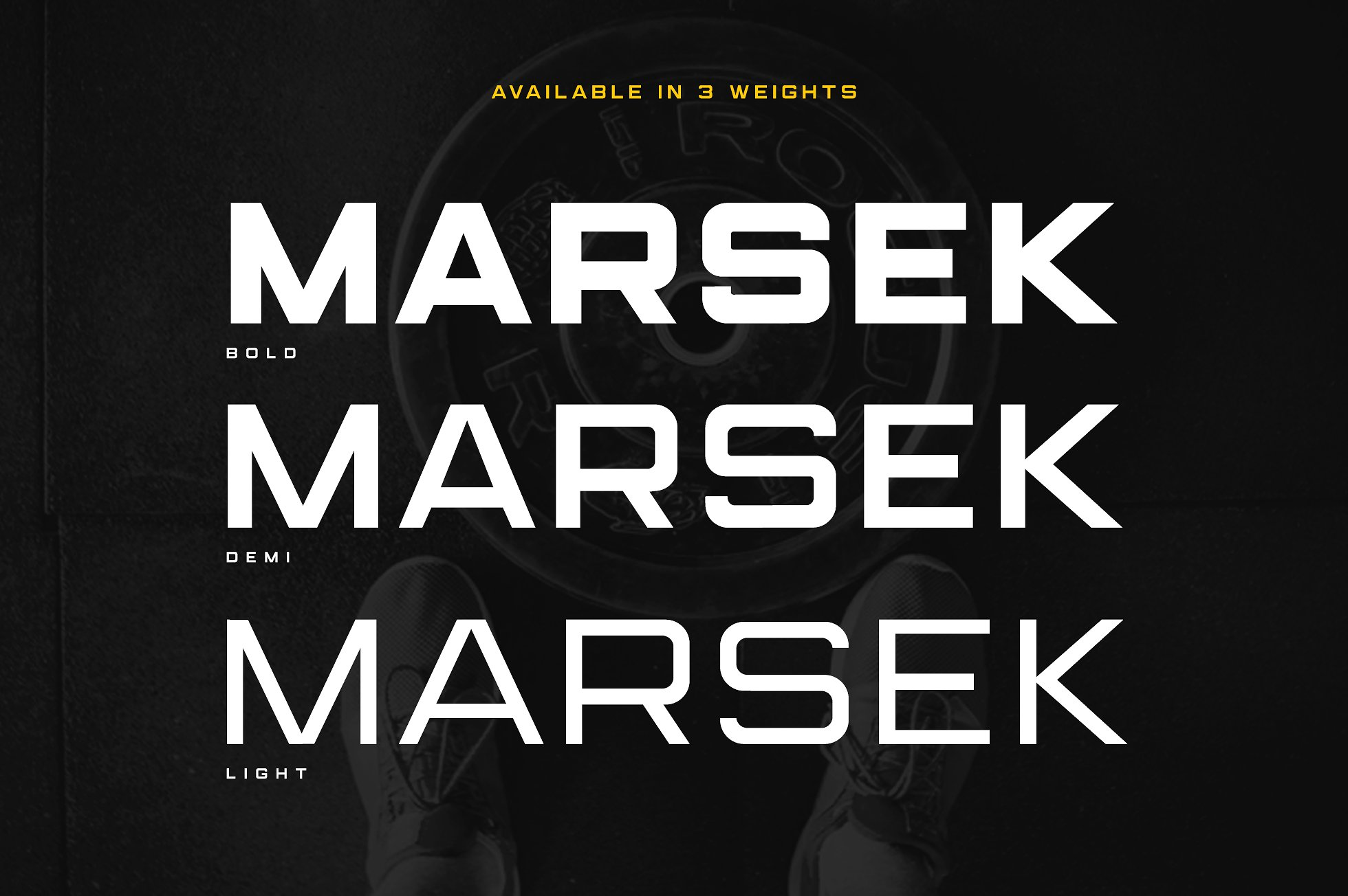Marsek Display Sans Serif