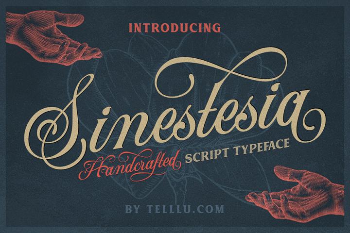 Sinestesia Script Font Demo