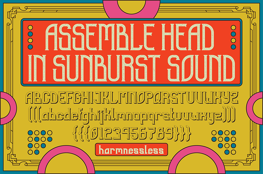 Sunblast Display Typeface Demo