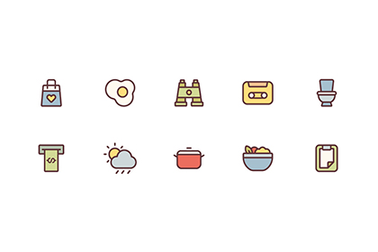 150 Free Linear Vector Icons