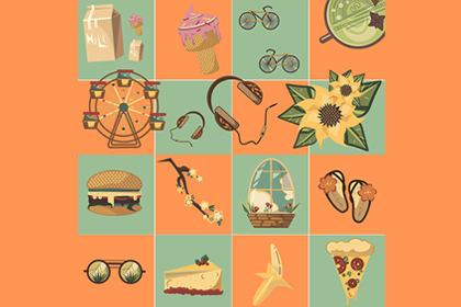 Free Summer Vector Icon Pack