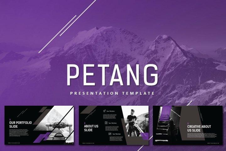Petang Free Presentation Template