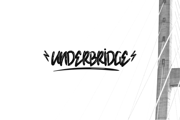 Underbridge Display Font Demo