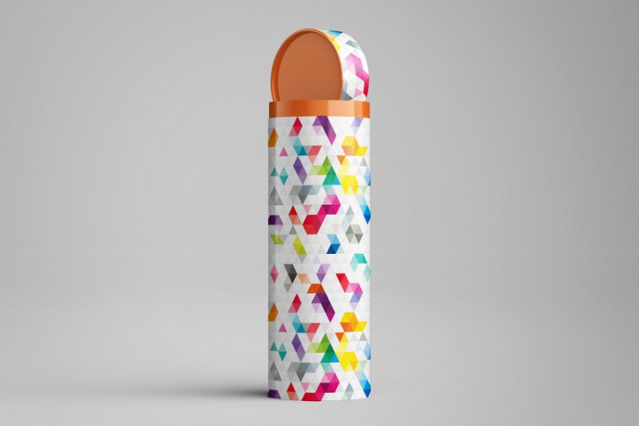Long Tube Packaging MockUp