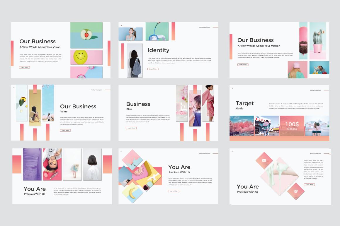minimal presentation template demo — free design resources, Minimal Presentation Template, Presentation templates