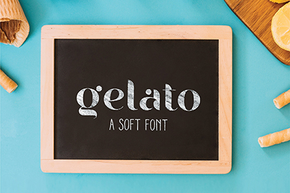 Gelato Soft Free Display Font