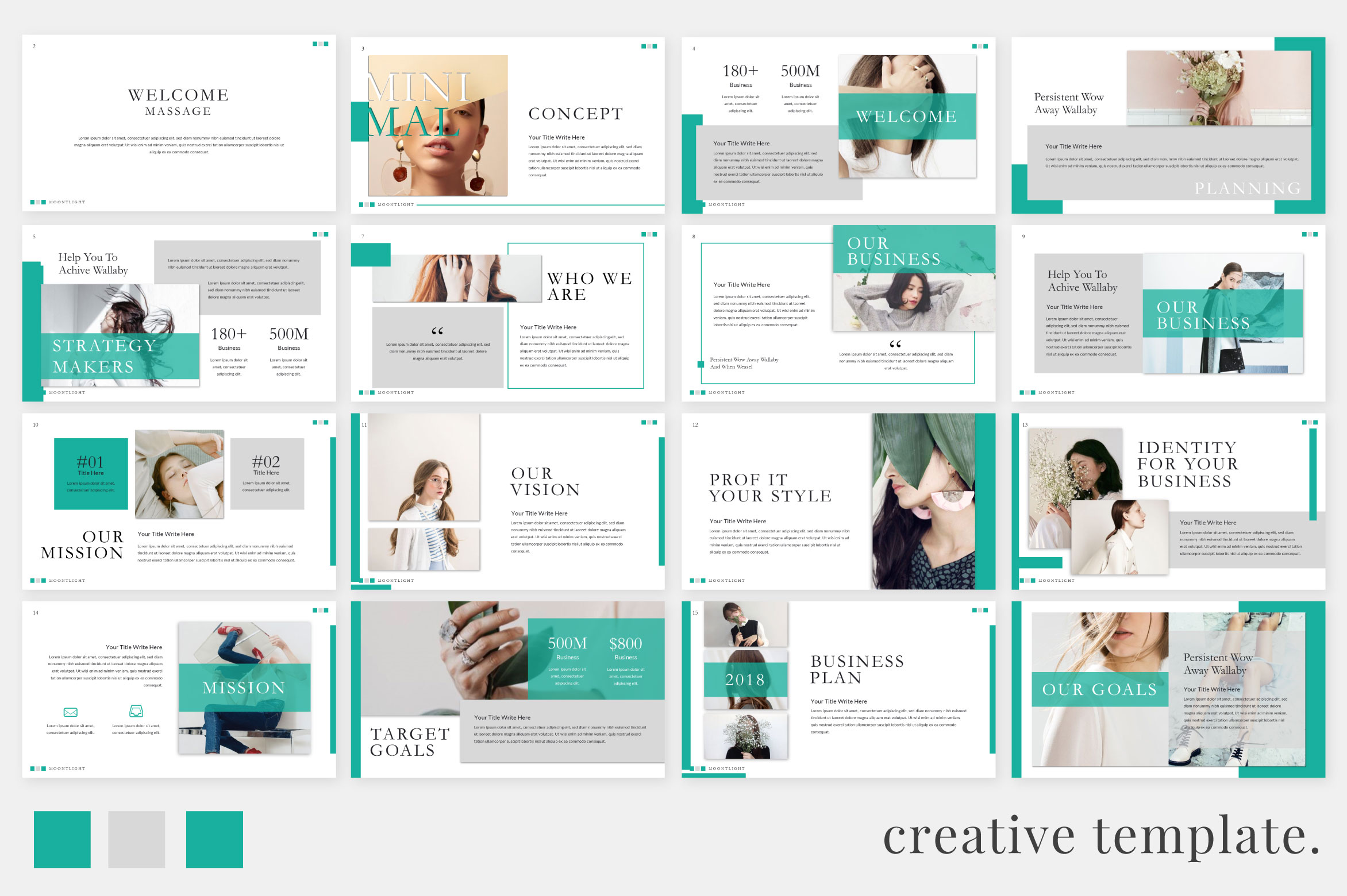 Moonlight Creative Powerpoint Free Design Resources