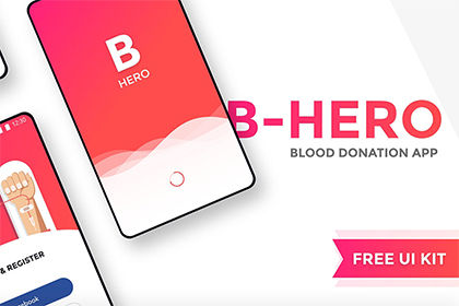 B Hero Blood Donation App