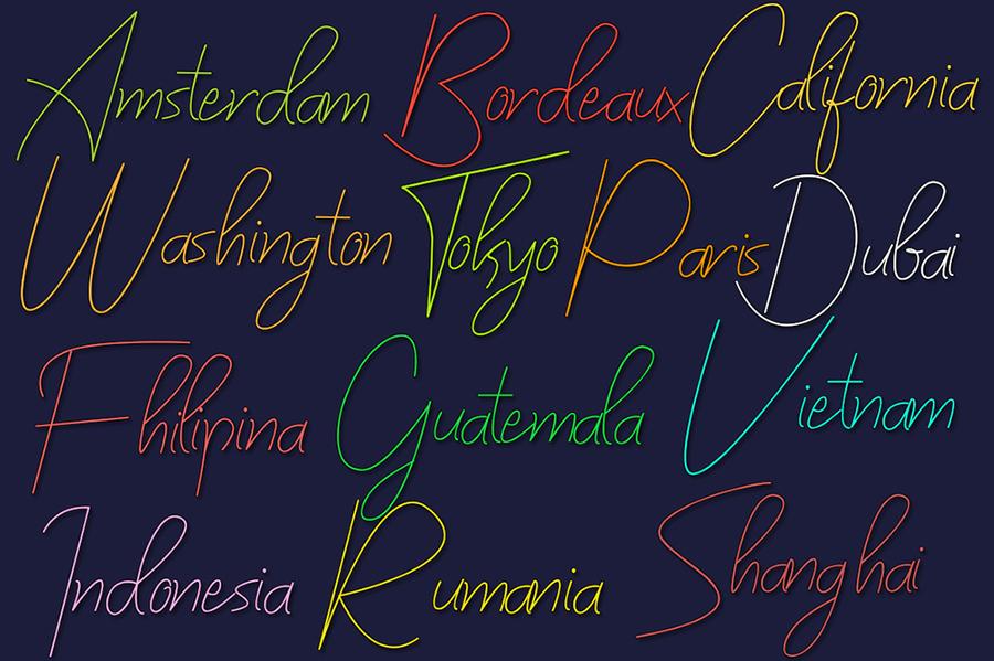 Bilyardeis Handwritten Font Demo