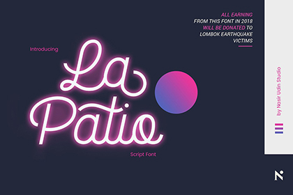 La Patio Script Free Demo