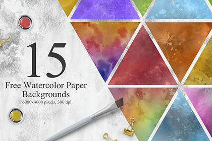 Free Watercolor Paper Background
