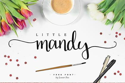 Little Mandy Script Free Font