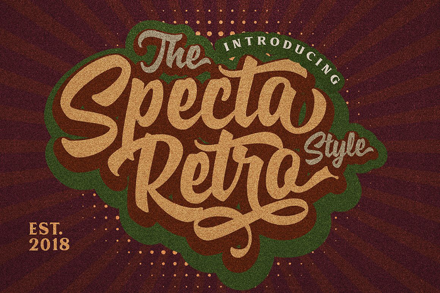 Specta Retro Style Free Demo