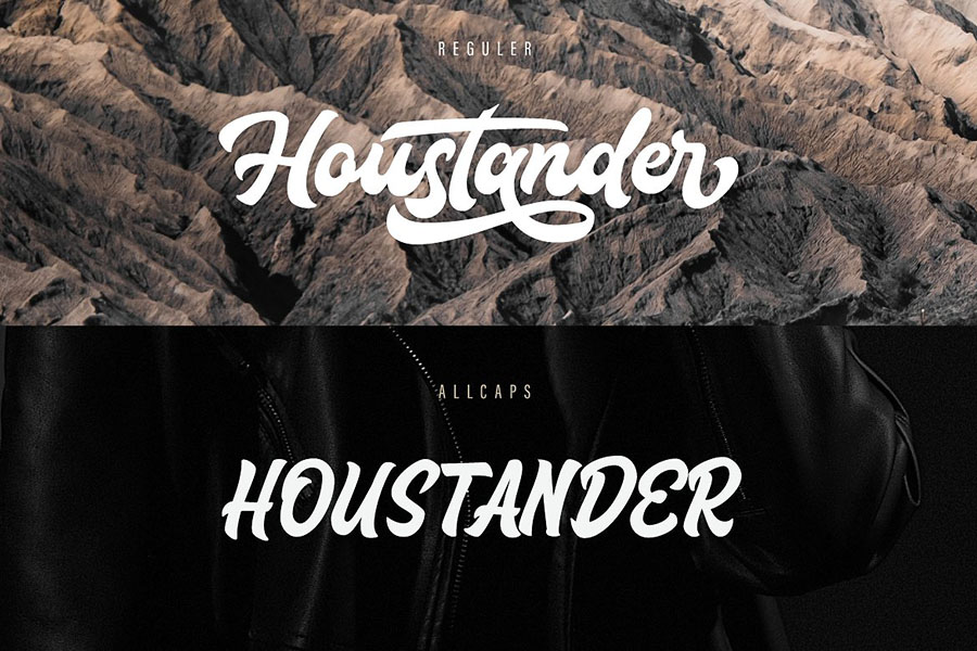 Houstander All Caps Free Demo