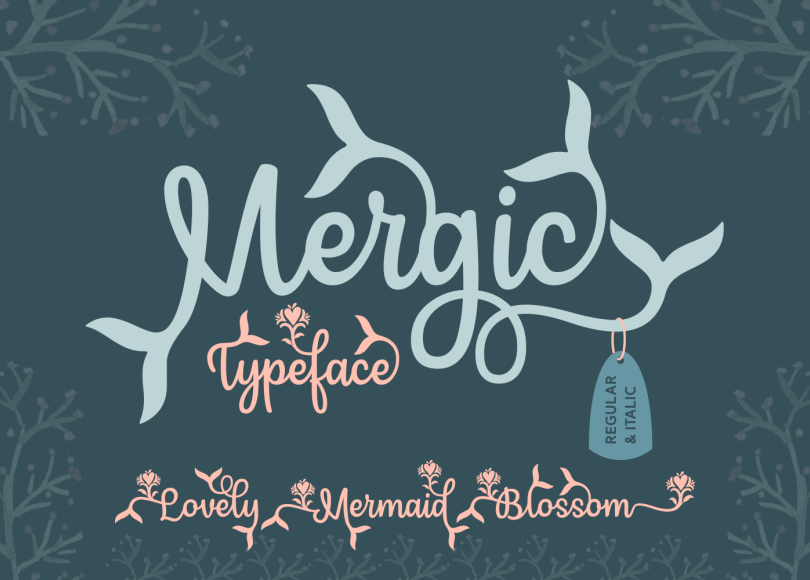 Mergic Typeface Free Demo