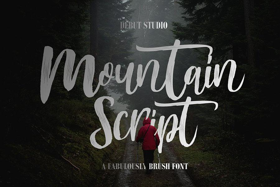 Mountain Brush Script Demo