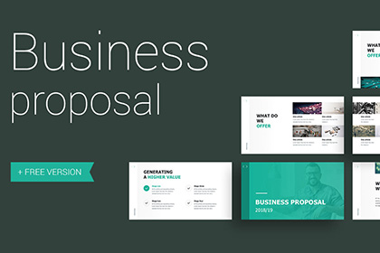 Proposal Free Presentation Template