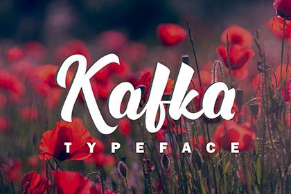 Kafka Handlettering Font Demo