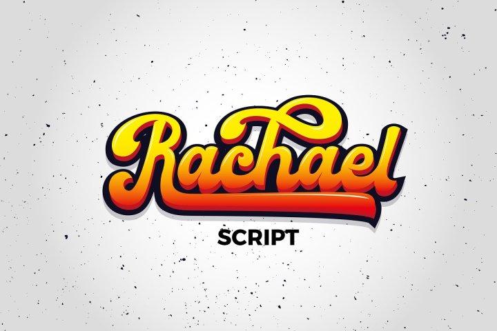 Rachael Script Free Demo