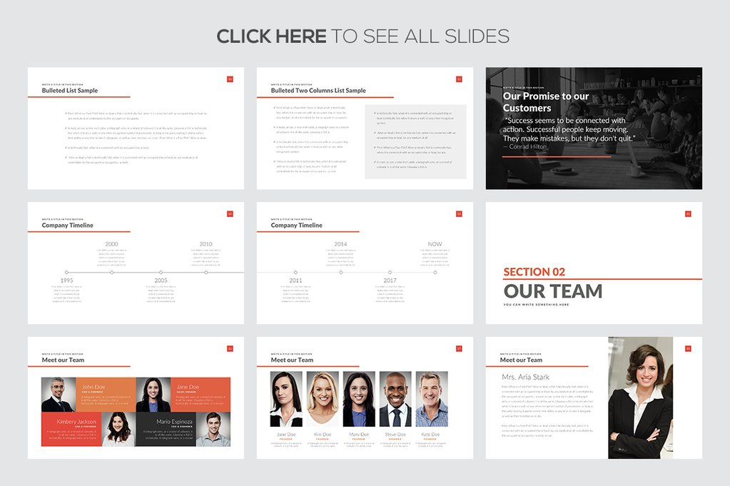 Business Strategy Presentation Template Free Demo