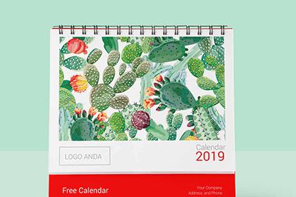 Free 2019 Calendar Design