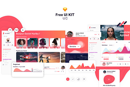 SoundBuzz Music App UI Kit