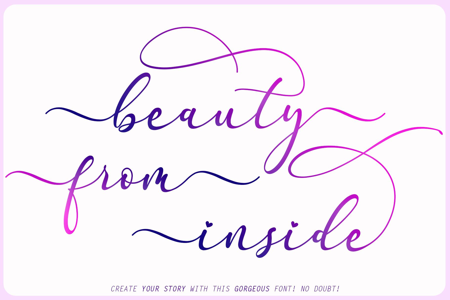 Faradilla Beautiful Script Font